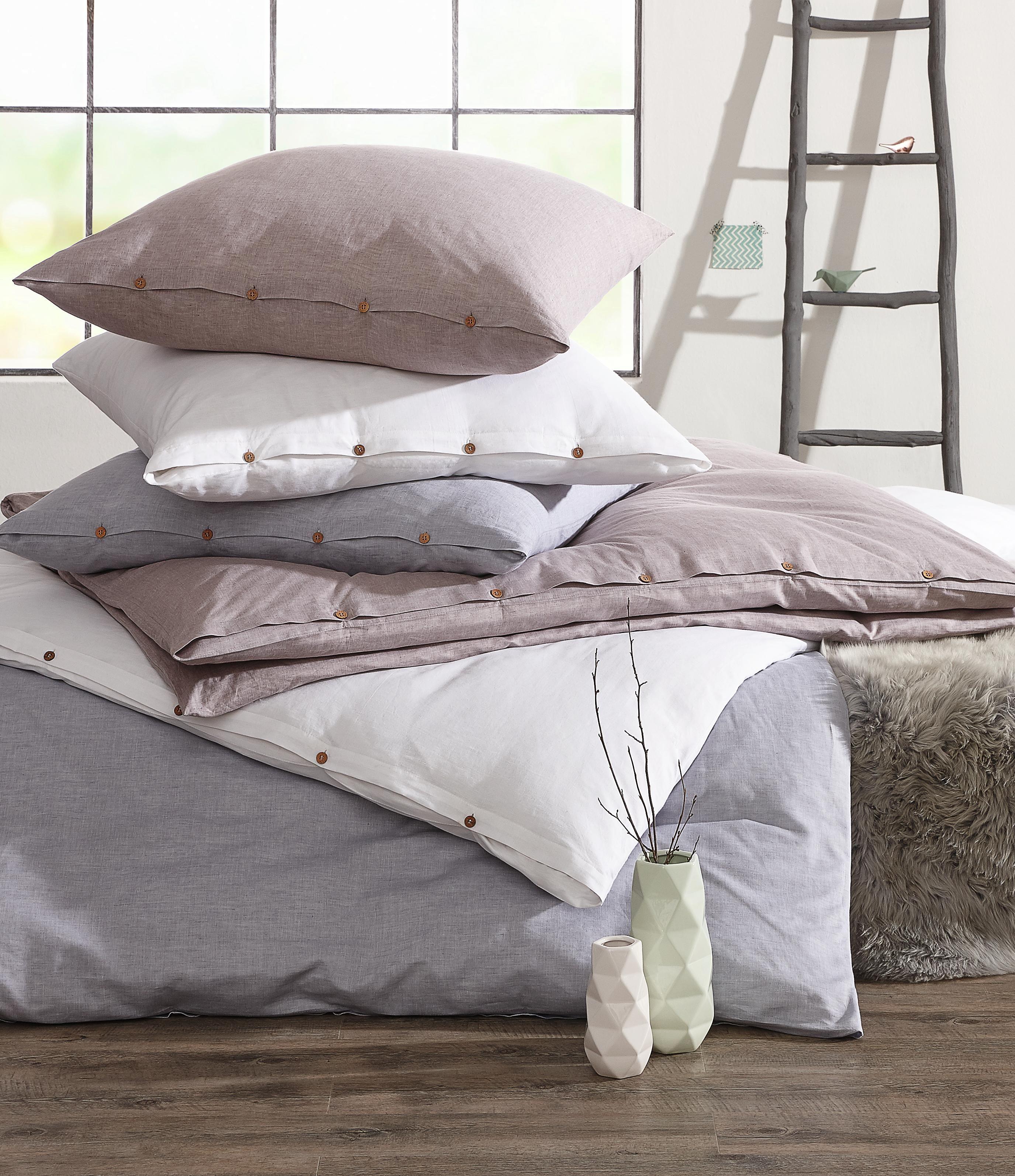 Bettwasche Silberfarben 135 200 Cm Weisse Bettwasche Bettwasche