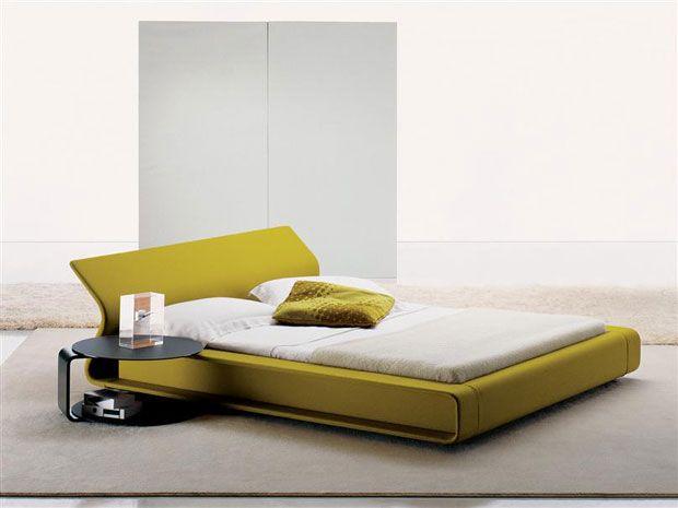 moderna cama matrimonio tapizada cabecero regulable | muebles y ...