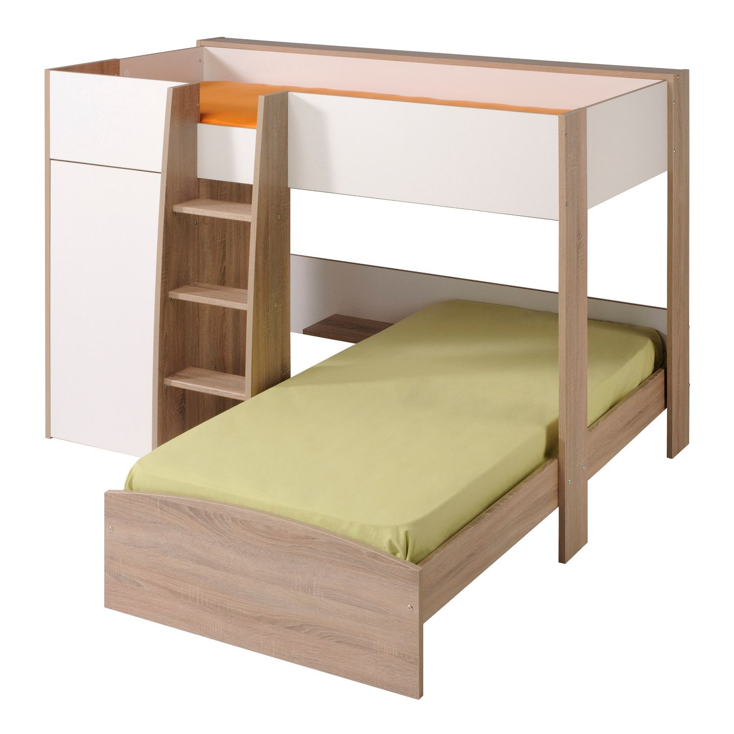 Loft bunk bed with desk   Interesting L Shaped Bunk Beds Design Ideas Youull Love  Bunk