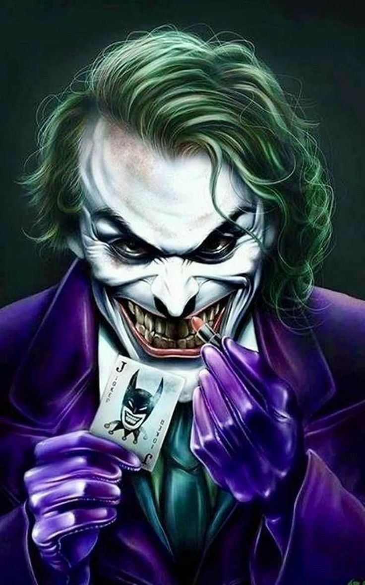The Joker Meets His Match Dscererat I M Supernatural I M Coming Undone Kartun Gambar Joker