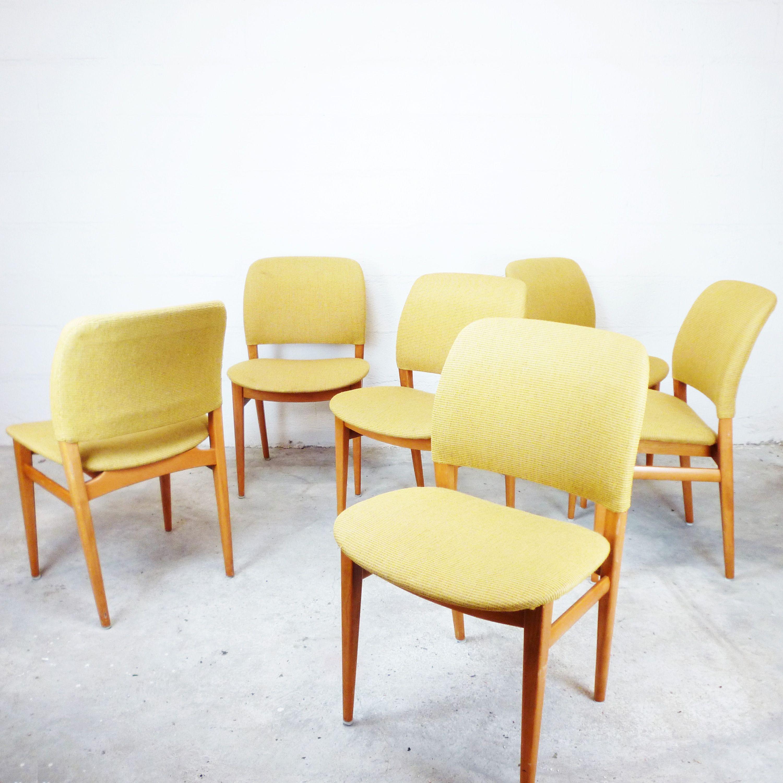 Série chaises scandinave de 6 1960NordikDNAChaise y8Ovm0wNnP