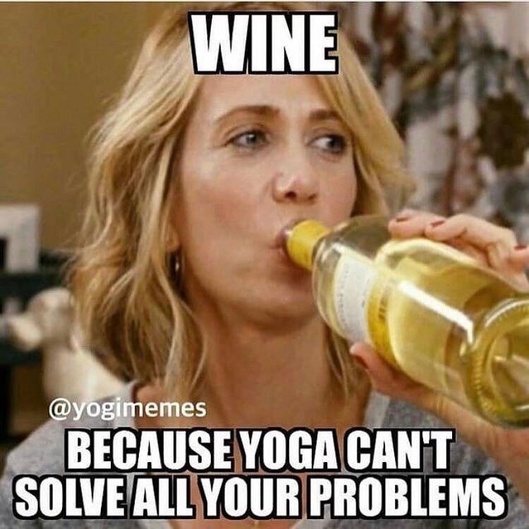 yoga memes yoga funny memes funny yoga memes yoga memes funny pilates memes  yoga funny humor yoga humor funny yog… | Funny yoga memes, Yoga quotes funny,  Wine jokes