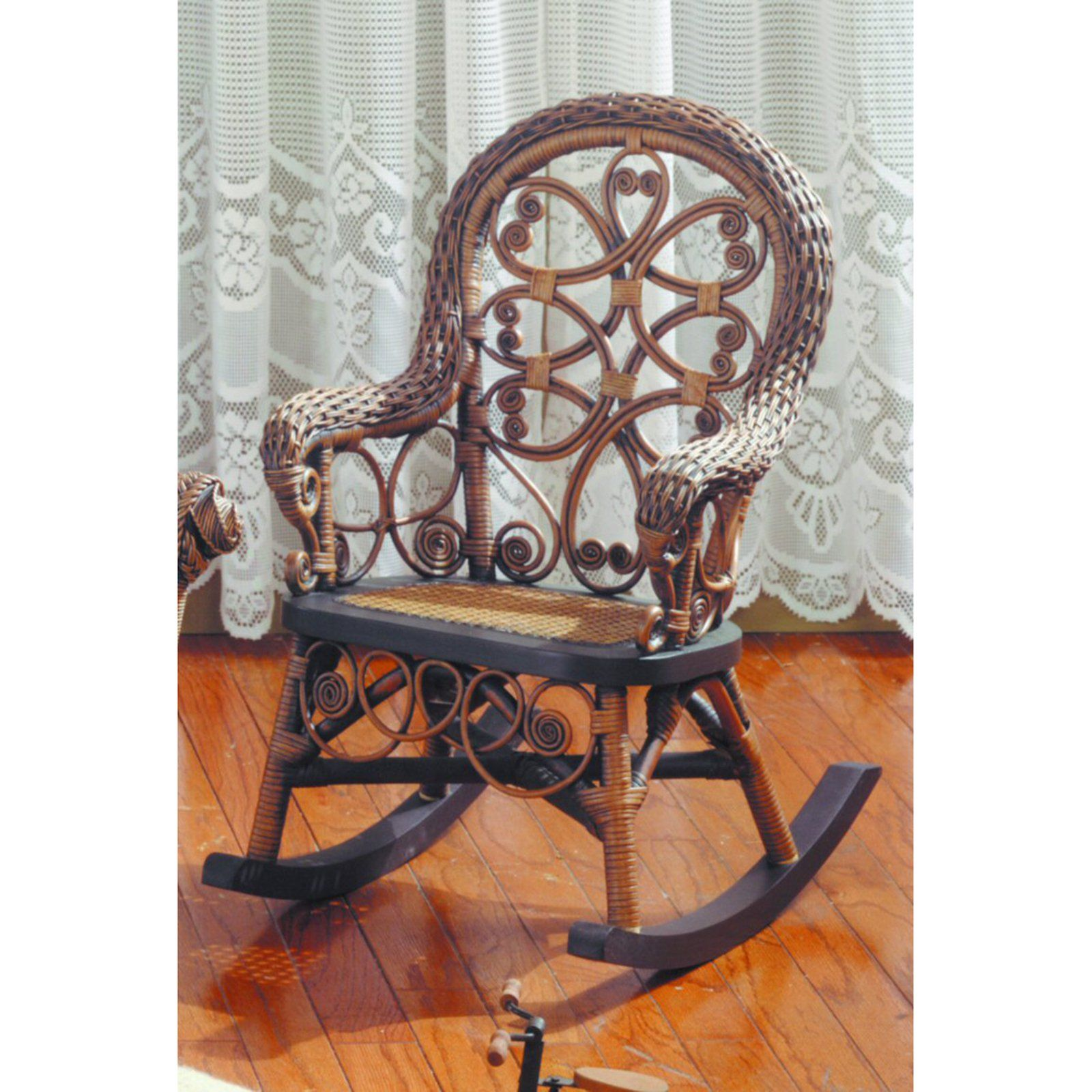 Have to have it Victorian Wicker Childs Rocking Chair $149 98