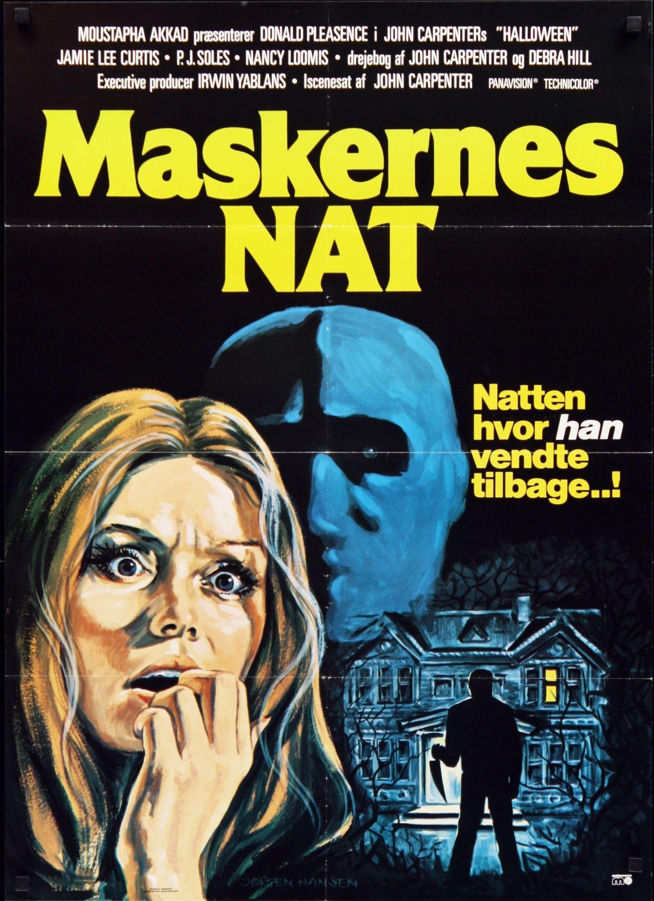 Halloween (1978). Danish poster by Hansen. John