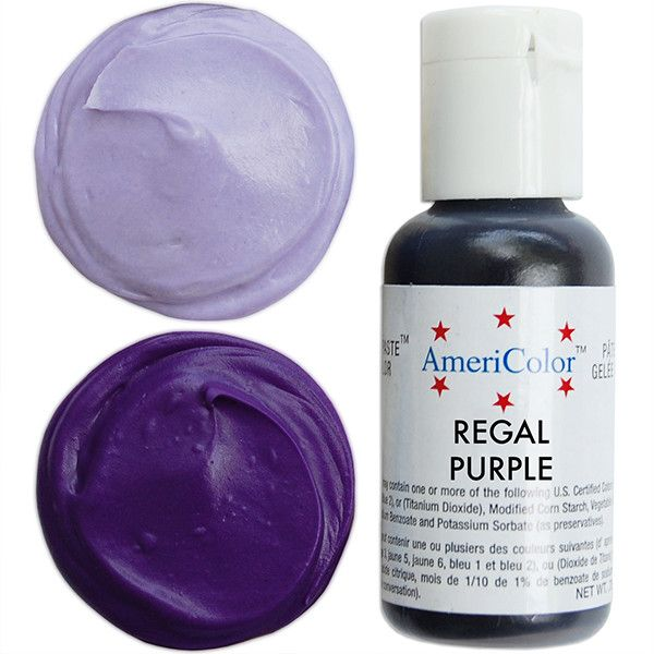 Regal Purple Gel Paste Food Color | Cooking & Baking Tips ...