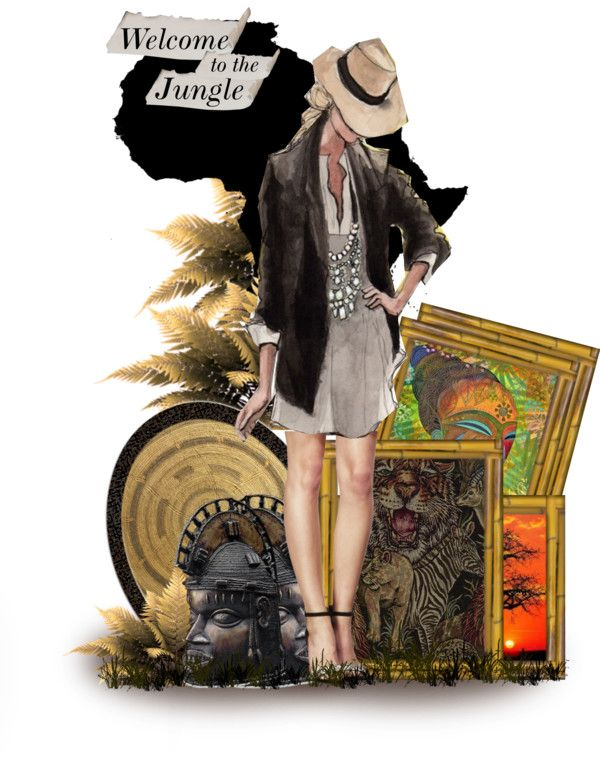 """""""welcome to the jungle"""" by psyche8778 ❤ liked on Polyvore"""