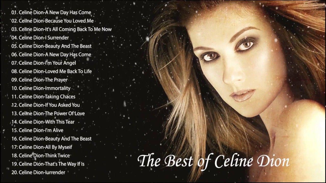 Celine Dion Greatest Hits Full Album Best Songs Of Celine Dion Hq 2019 Celine Dion Greatest Hits Celine Dion Best Songs