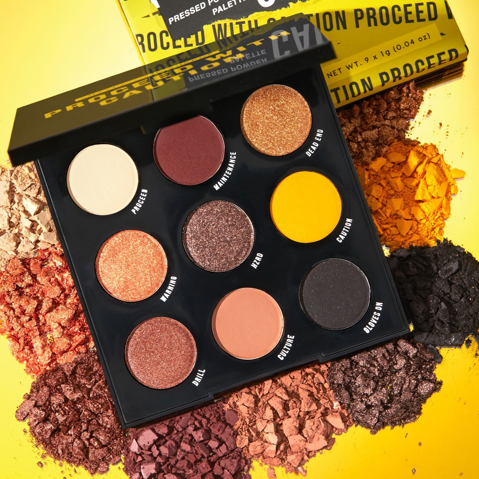 Proceed With Caution Palette 12 Shayla Proceed With Caution In