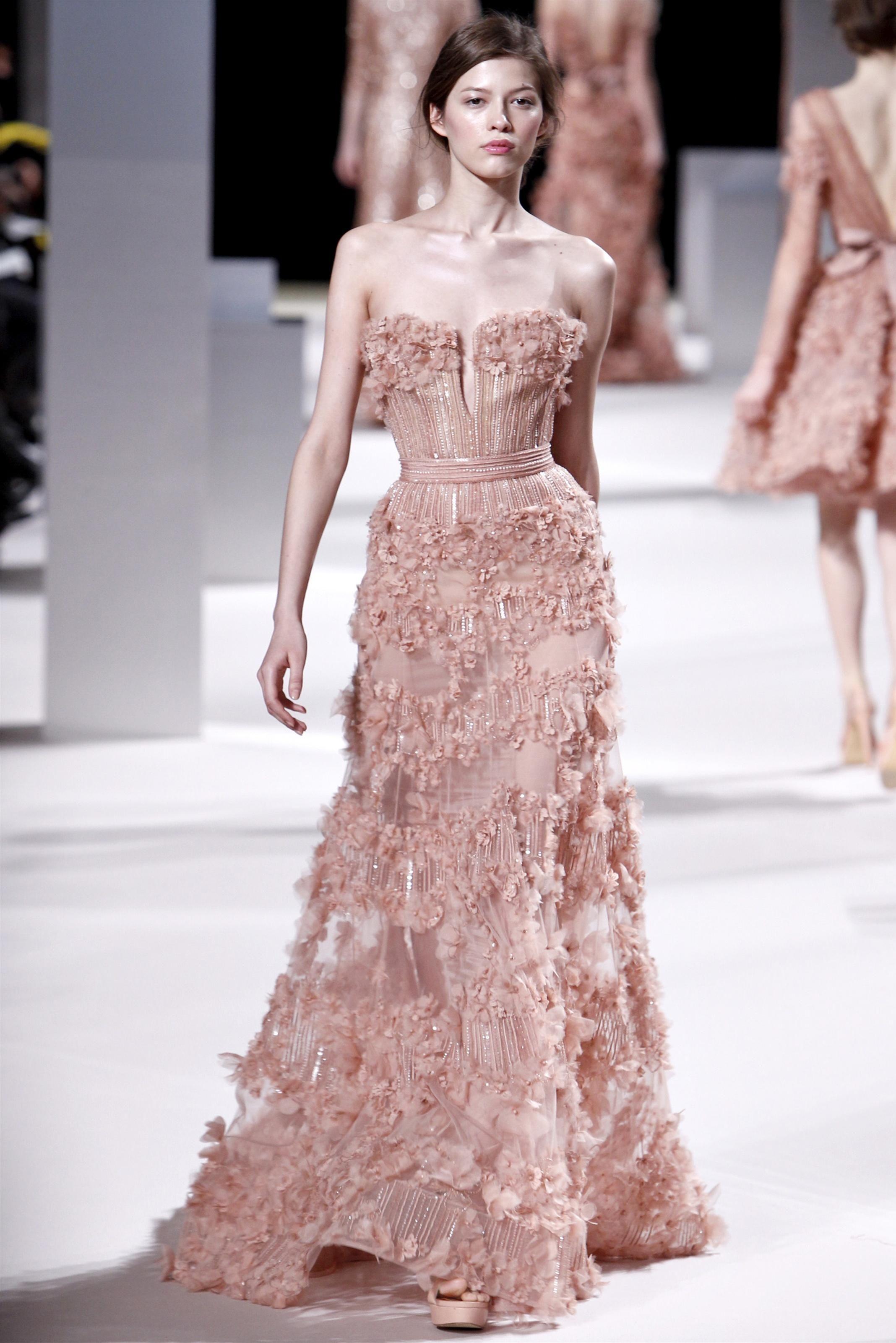 Elie Saab | Catwalk Moments | Pinterest | Vestidos de noche, Moda ...