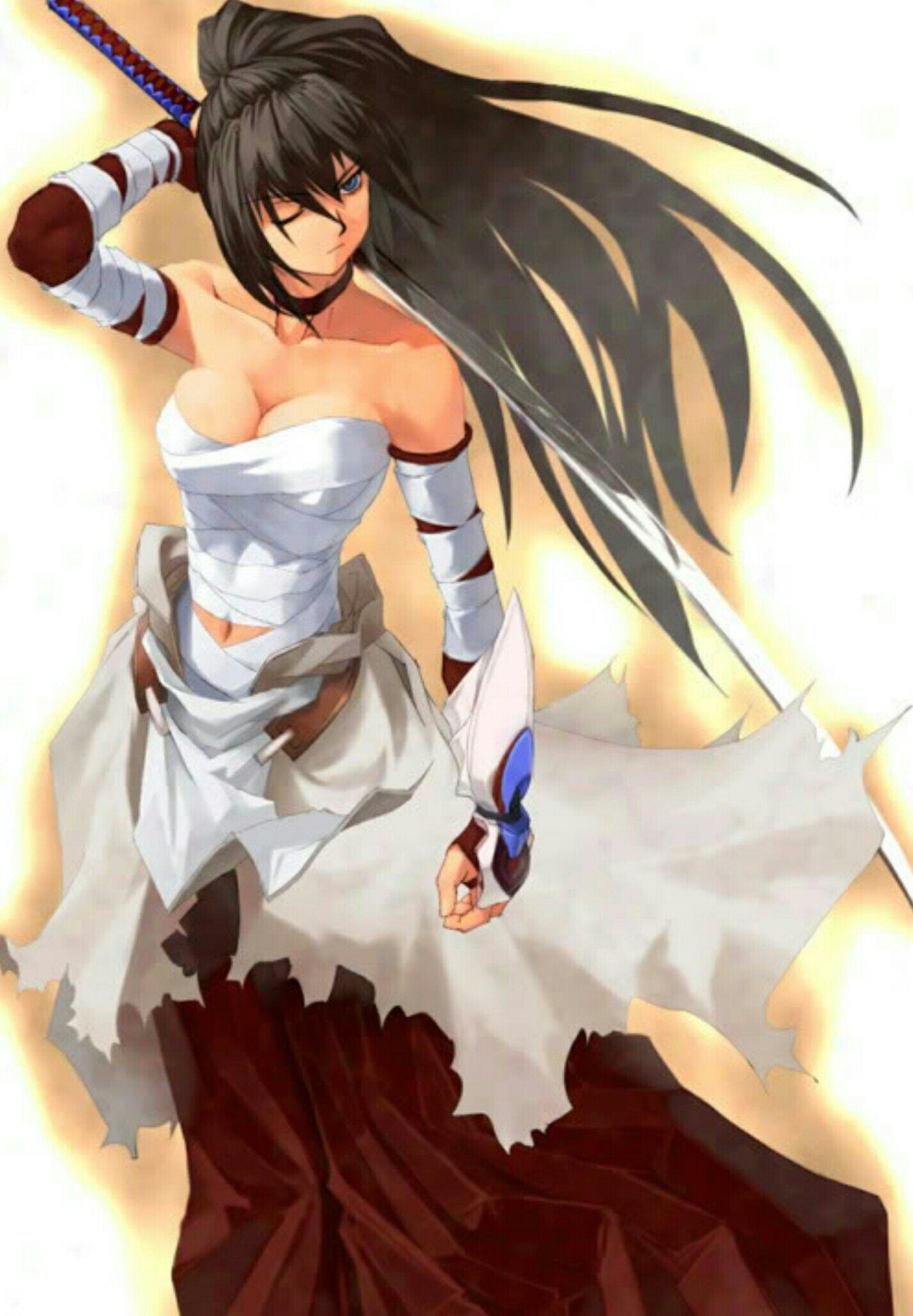 Pin By Harlowpain On Anime Females Samurai Anime Anime Warrior