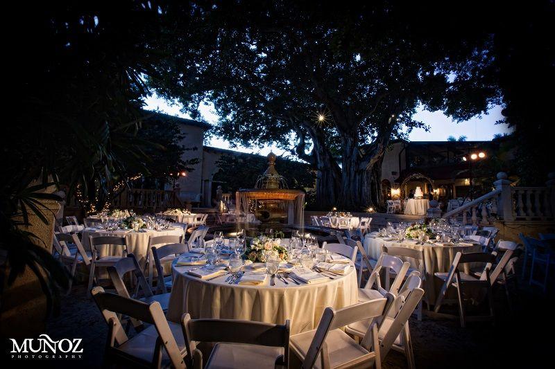 Outdoor Reception at the Addison #weddingvenue