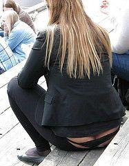 Girl getting fucked in a bukkake