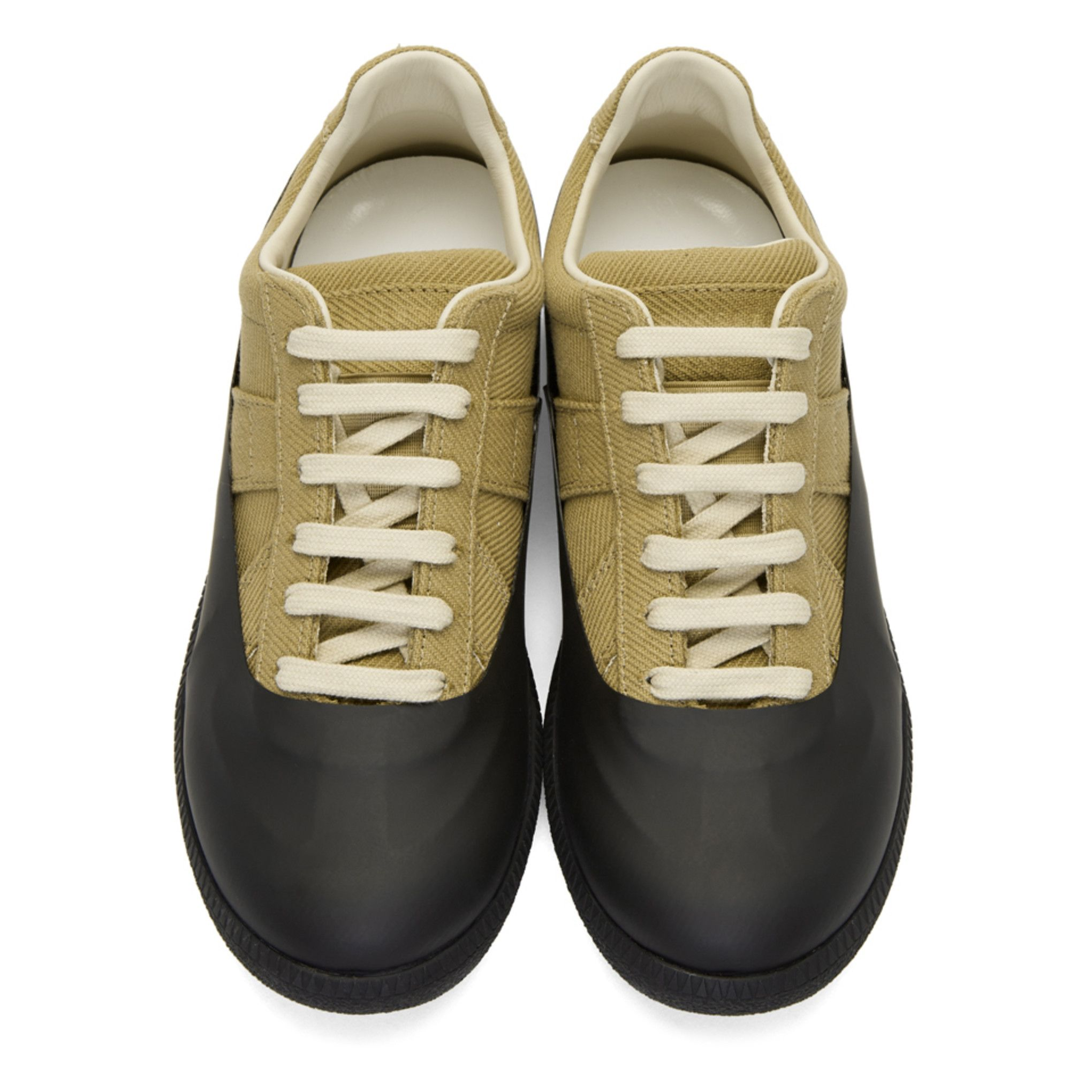 Khaki and Black Galosh Replica Sneakers Maison Martin Margiela Free Shipping Deals Clearance Find Great Cheap Enjoy Good Selling Cheap Online 4DCpw9M3