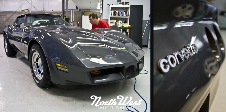 This 1978 Corvette received our Connoisseur (3 Stage Buff and Polish) Exterior Detail