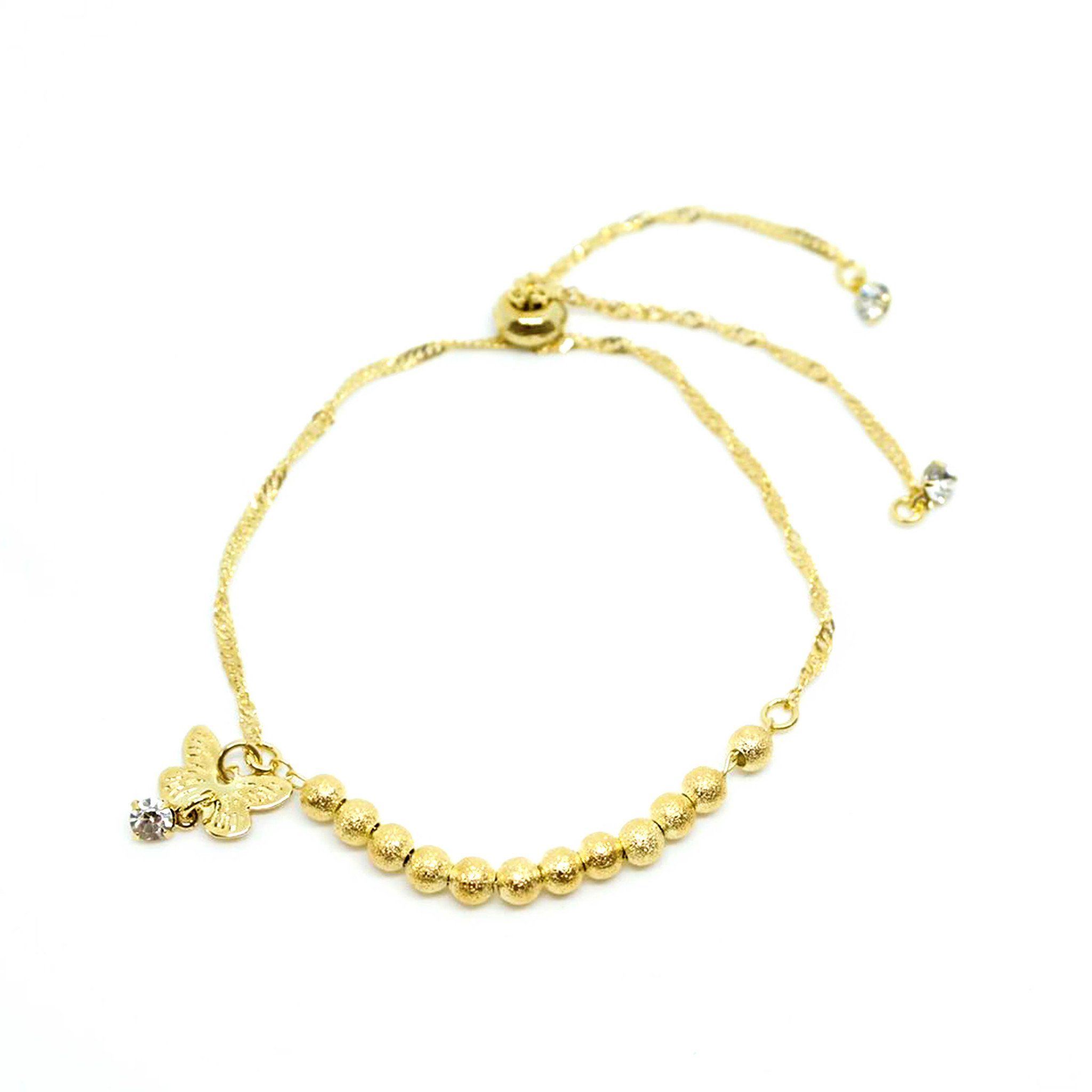 nell tipton slider xs gold chain product tone bracelet pearl ashley