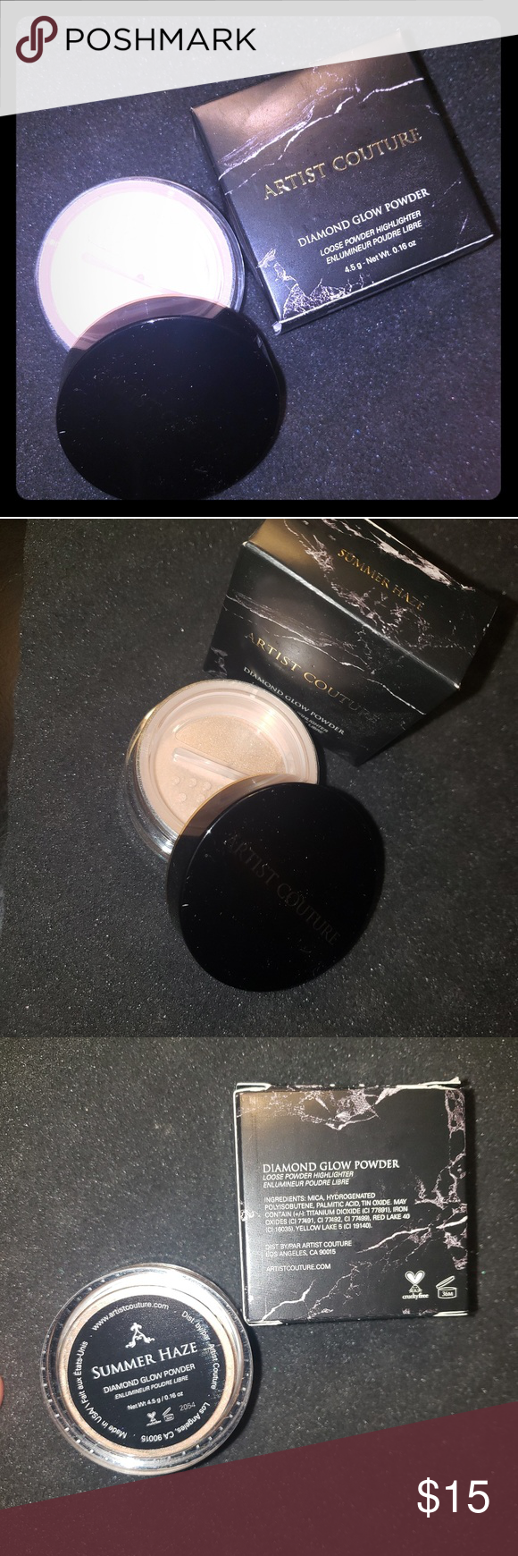 Artist Couture Diamond Glow Powder A shimmering loose
