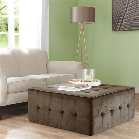 cozy fresh 848c4 1e806 Zeus Oversized Cocktail Ottoman | family room | Cocktail ...