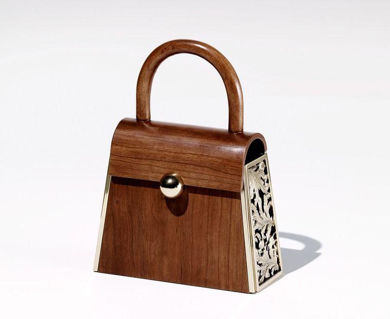Сумки из дерева  современные и винтажные - Ярмарка Мастеров - ручная  работа, handmade 61b9f8689fb