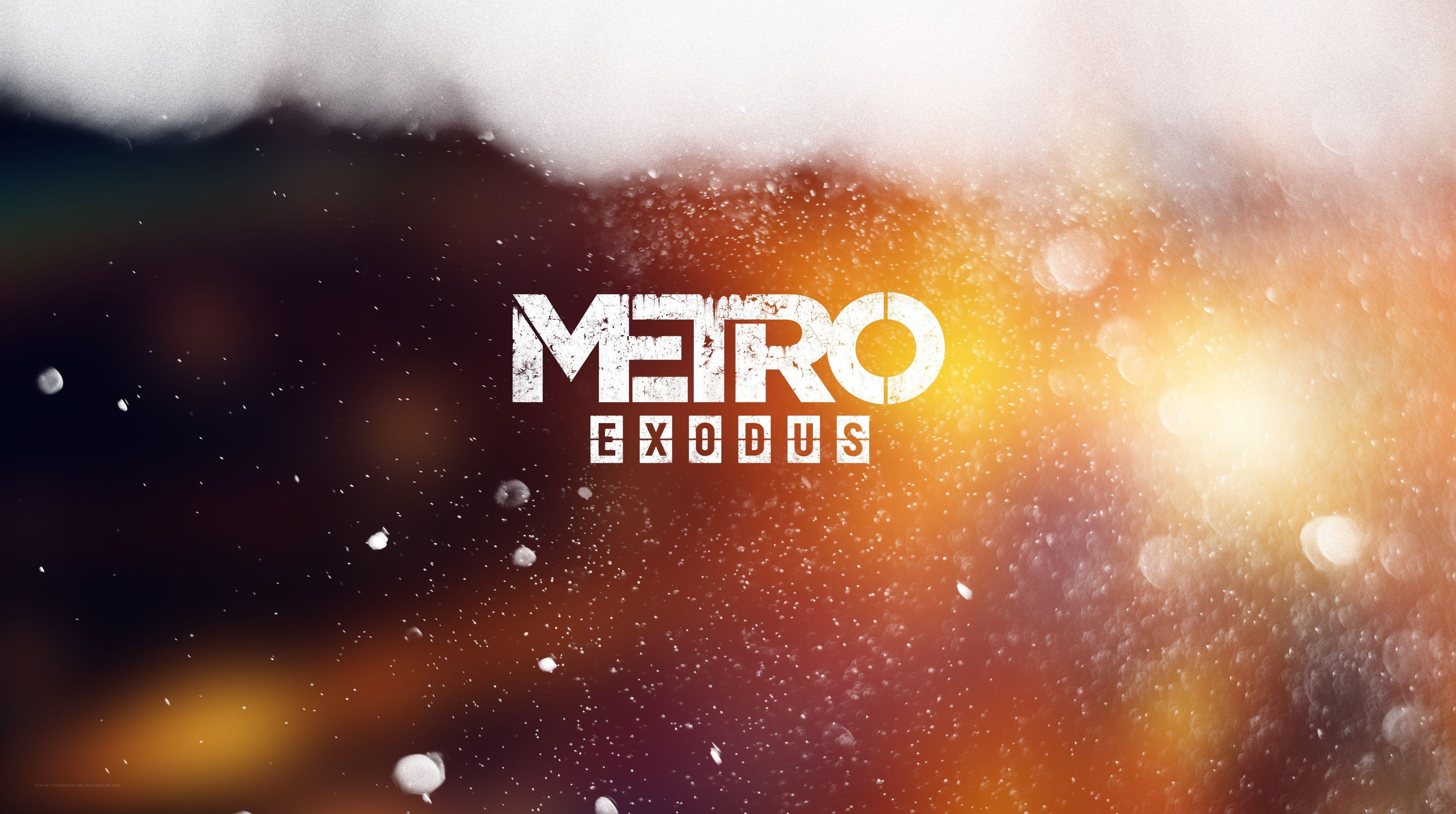 3840x2146 Metro Exodus 4k High Resolution Wallpaper For