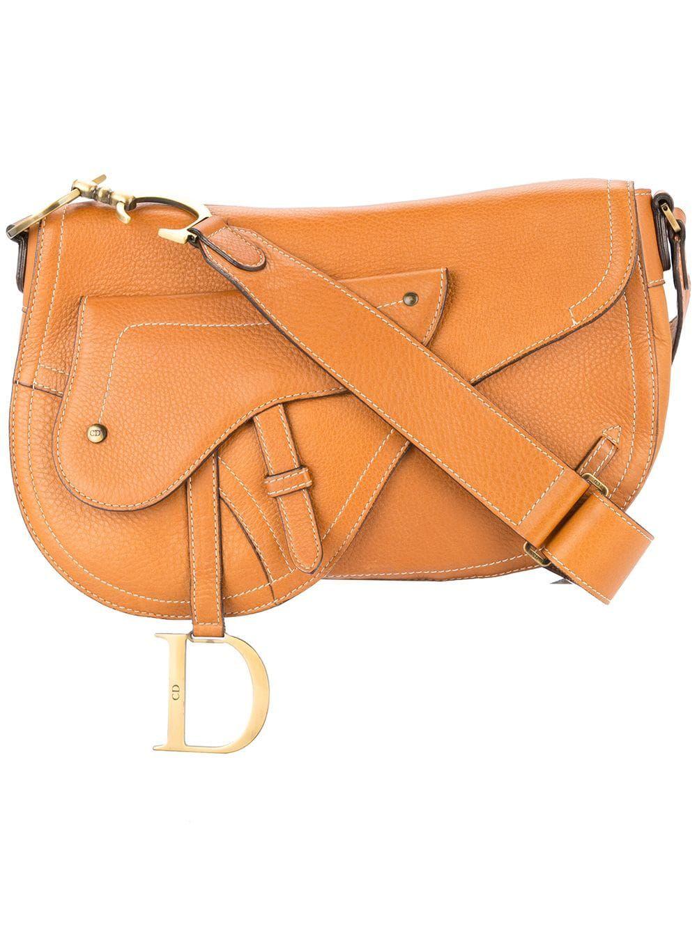 1930a8998 CHRISTIAN DIOR PRE-OWNED saddle shoulder bag - Brown in 2019 ...