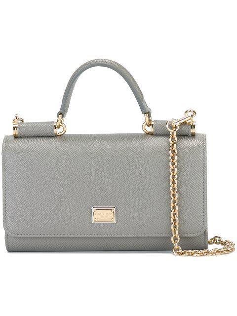 56db6f6bff DOLCE & GABBANA Mini 'Von' Wallet Crossbody Bag. #dolcegabbana #bags #shoulder  bags #leather #crossbody #