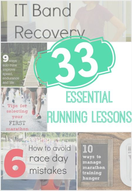 33 Key Articles to make you a better runner - from racing to training to sports nutrition, Pin it now to read later