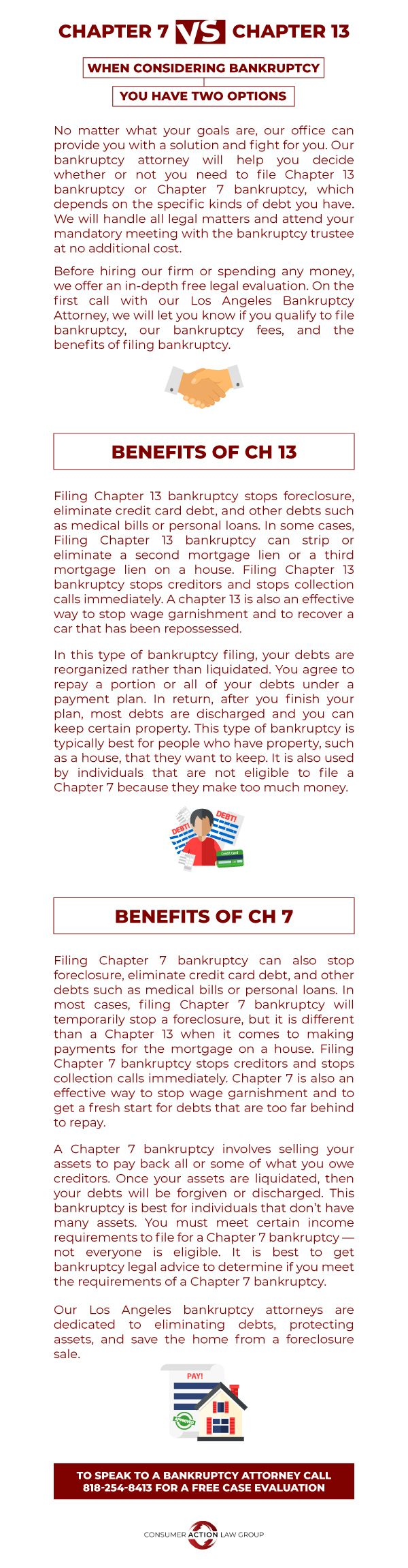Bankruptcy Has Two Options For Individuals Bankruptcy Filing Bankruptcy Medical Loans