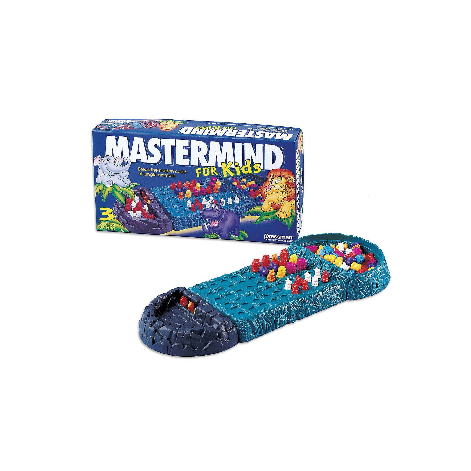 Mastermind For Kids Game by Pressman Toy, Multicolor
