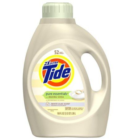 Amazon Com Tide 2x Ultra Pure Essentials With Baking Soda Liquid