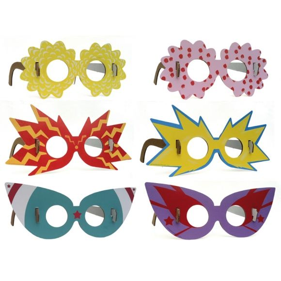 My Glasses Cardboard Masks Hardtofind Cardboard Mask Diy Cardboard Kids Glasses