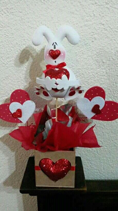 Amistad Arreglos Y Dia Febrero Para Caja En Amor 14 De La Del De De El 14 Febrero Madera