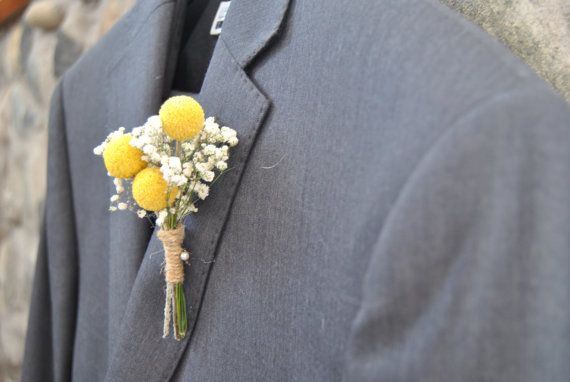 Southern Charm Billy Ball (Crespedia) Boutonniere