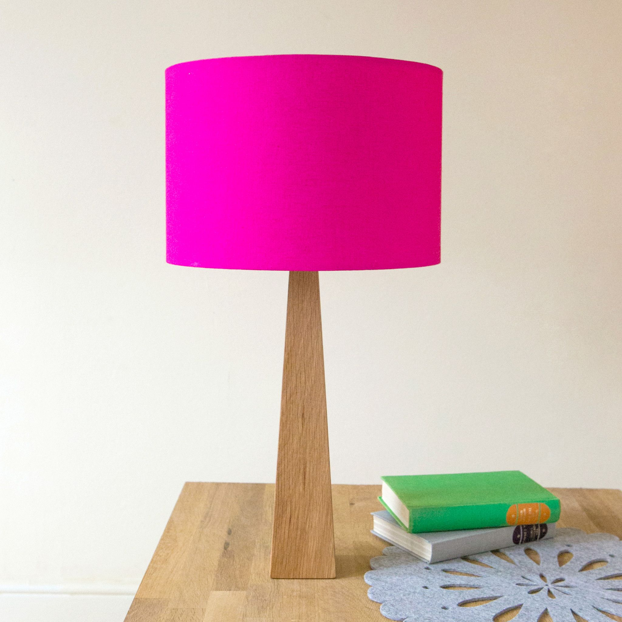 Hot Pink Table Lamp Pink Table Lamp Wooden Table Lamps Pink Lamp