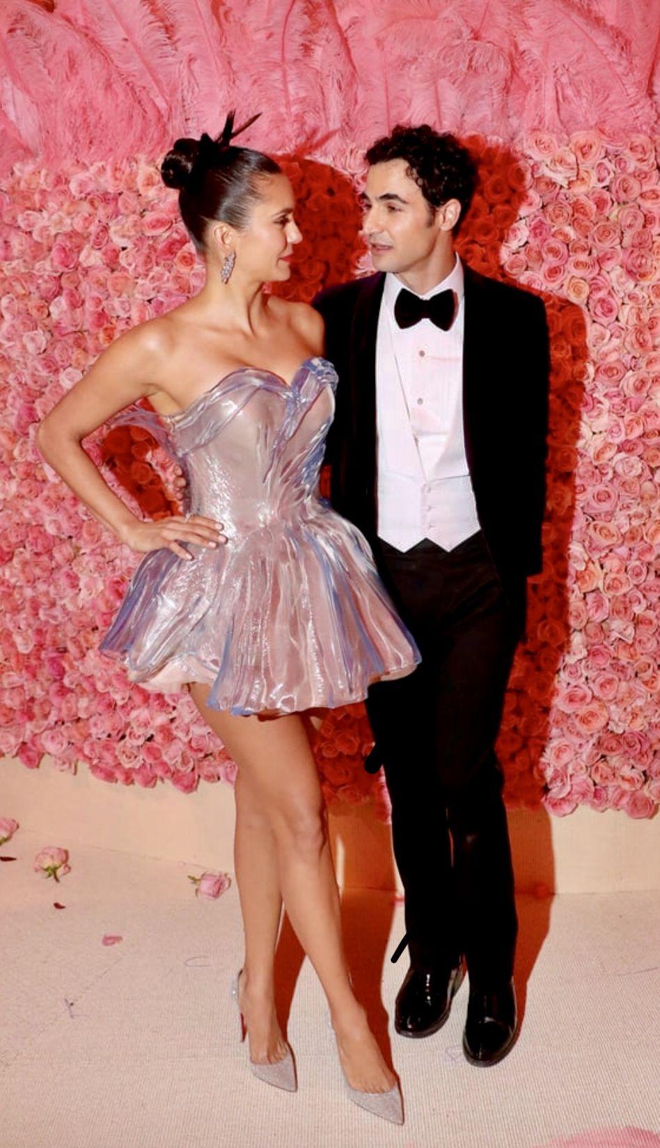 Nina Dobrev And Zac Posen Met Gala 2019 Met Gala Lady Gaga Met Gala Celebrities