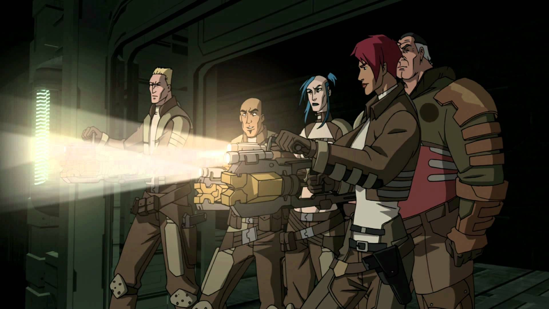Dead Space Downfall Dead Space Cartoon Animation