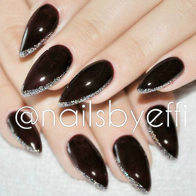 21 Cute Stiletto Nails Designs For Your Inspiration Pinterest