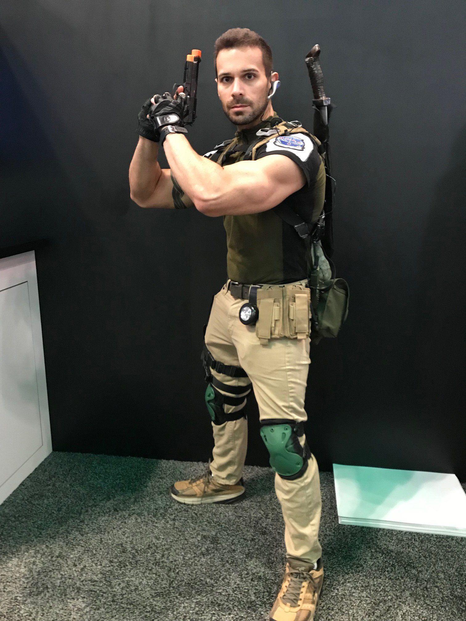 Chris Redfield Cosplay Resident Evil 5 Resident Evil 5