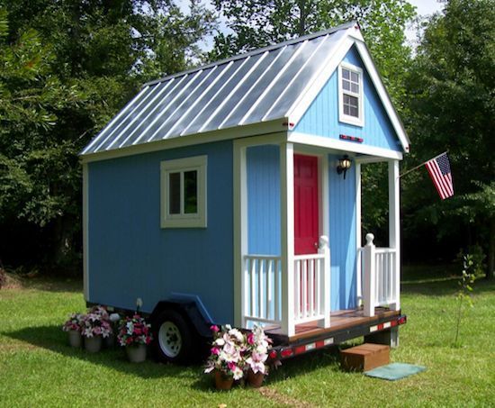 A Tiny House On A Trailer That Costs Less Tiny House Tiny House Cabin Tiny House Trailer