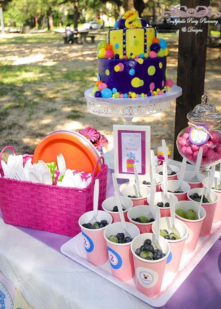 Kara S Party Ideas Bubbles Birthday Party Kara S Party Ideas