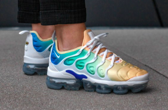 8694d0fadc Look For The Nike WMNS Air VaporMax Plus Light Menta In April | Roks ...