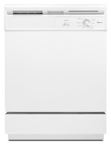 Kitchenaid Dishwasher White >> Amana Standard Tub Dishwasher Adb1000aww White Built In