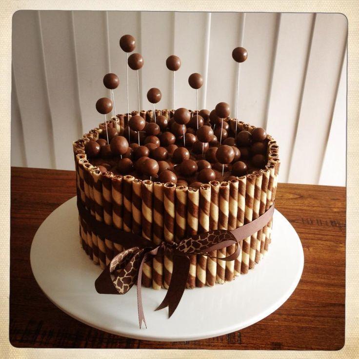 Chocolate Cake Design For Boys