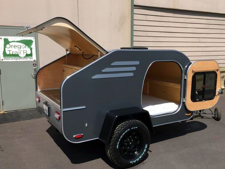 30+ Awesome Small Teardrop Camper Trailer Designs