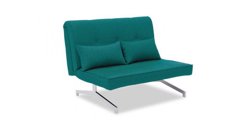 Canapé Convertible BZ Design Duo Bleu Turquoise | Convertible and ...
