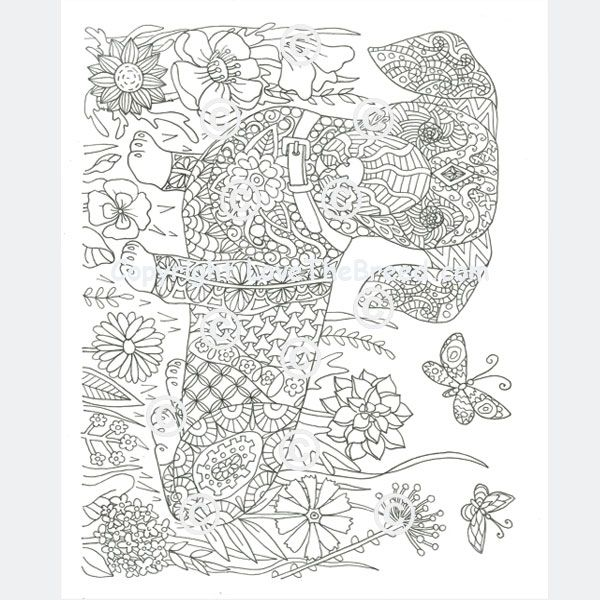 Dachshund Coloring Book For Adults And Children Volume 1 Dog Coloring Page Coloring Books Coloring Pages