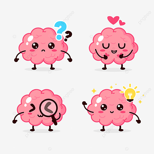 Brain Character Cartoon Mascot Motion Cartoon Brain Png Transparent Clipart Image And Psd File For Free Download Mascot Design Brain Png Cartoon