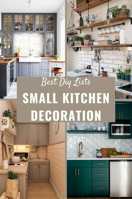 Small Kitchen Decoration Ideas In 2020 Kitchen Decor Kitchen Inspirations Small Kitchen Decor