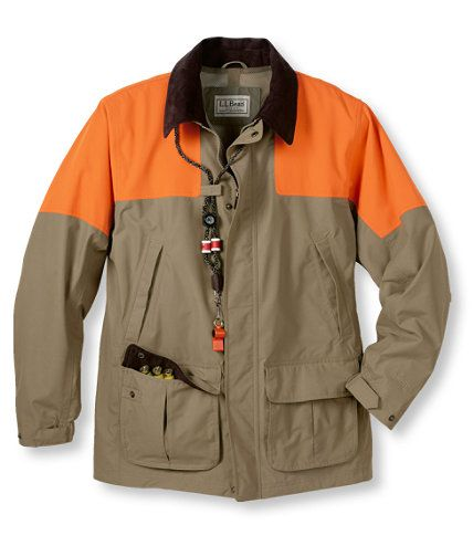 74cb5b8889165 Upland Hunting Coat (Gore Tex) with Blaze Orange - For late season hunting  and/or wet days