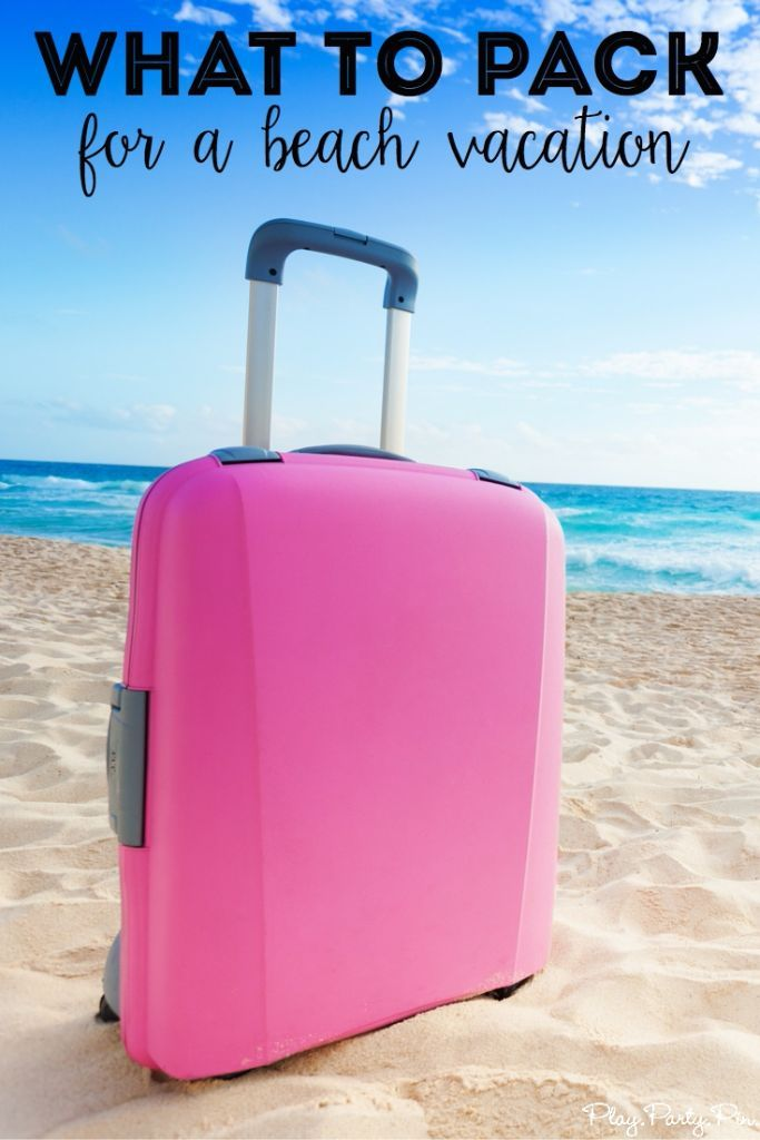 Beach Vacation Packing List | Beach Vacation Packing List