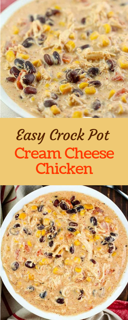Easy Crock Pot Cream Cheese Chicken images